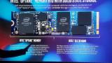 인텔 H10 (Optane + QLC SSD) 발표
