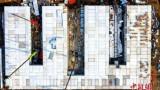 중국이 우한 1천병상 화선산병원을 10일만에 완공했다네요